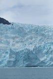 关闭冰川 免版税库存图片