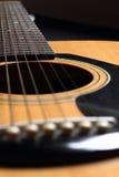 关闭吉他  库存照片