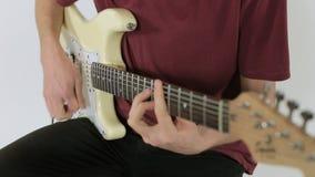 关闭吉他使用 股票录像