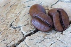 关闭咖啡豆 免版税图库摄影