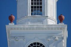 关闭圆屋顶在立法霍尔顶部在多弗,特拉华 免版税库存照片