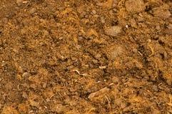关闭土壤 免版税库存图片