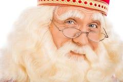 关闭圣诞老人 库存图片