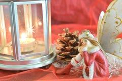 关闭圣诞节神仙 免版税图库摄影