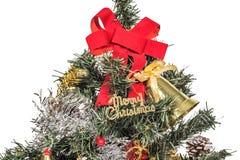 关闭圣诞节 免版税库存照片