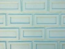 关闭在农村的白色砖墙背景 图库摄影
