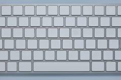 关闭在有被删除的所有信件数字和标志钥匙的一个键盘 免版税库存图片
