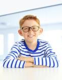男孩的画象 免版税图库摄影