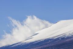 关闭富士山在日本 免版税库存图片