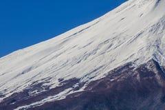关闭富士山在日本 库存图片