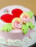 关闭射击(宏指令)蛋糕 库存图片
