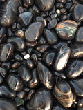 关闭小卵石在南安达曼,泰国 库存照片