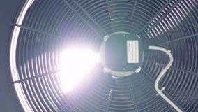 关闭工厂工业通风机 4K 股票录像