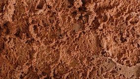 关闭巧克力冰淇凌背景 免版税库存照片