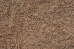 关闭建筑沙子 免版税库存照片