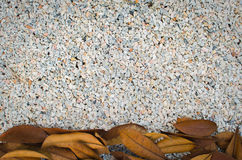 关闭微小的岩石,被击碎的花岗岩,小卵石石渣纹理 免版税库存照片