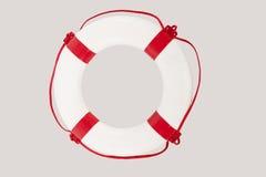关闭救护设备反对白色背景 免版税库存图片
