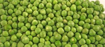 关闭新鲜的豌豆  免版税库存图片
