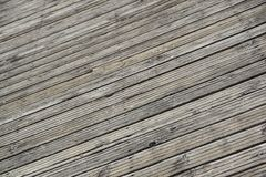 关闭木跳船 步行的木板 图库摄影