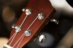 吉他细节  免版税库存照片