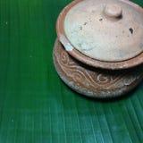 关闭泰语的图象硬化黏土 库存照片