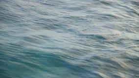 关闭海洋` s水的射击 股票录像