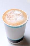 关闭热咖啡 免版税库存照片