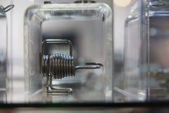 关闭热转换器管或卷  库存照片