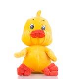 关闭玩具鸭子 库存照片