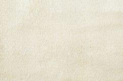 关闭白色沙子纹理 库存图片