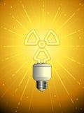 关闭的基本电灯泡 向量例证