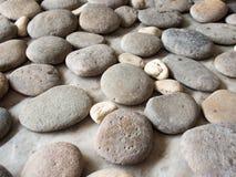 关闭石岩石背景纹理 免版税库存照片