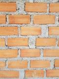 关闭砖块 免版税库存图片