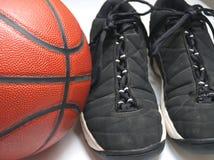 关闭篮球 库存照片