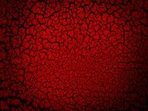 关闭红色破裂的抽象背景 图库摄影