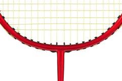 羽毛球球拍 库存照片