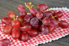 关闭红葡萄 库存图片