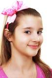 10年女孩 免版税图库摄影