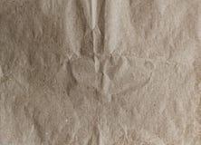 关闭老起皱纹的纸织地不很细和背景 免版税图库摄影