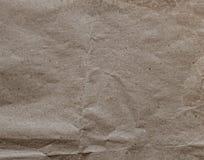 关闭老起皱纹的纸织地不很细和背景 库存照片