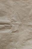 关闭老起皱纹的纸织地不很细和背景 库存图片