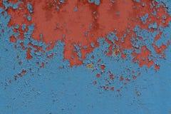 关闭老钢墙壁纹理有铁锈的 库存图片