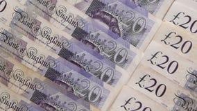 关闭英镑钞票 股票录像