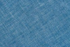 关闭蓝色颜色一件毛织物品  库存图片