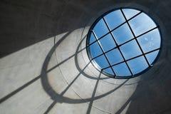 关闭蔡茨Mocaa在V&A江边的当代艺术博物馆非洲的内部,开普敦,南非 免版税库存图片