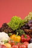 关闭蔬菜的食物 免版税库存照片