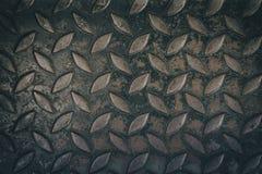 关闭金刚石钢板纹理背景 库存图片