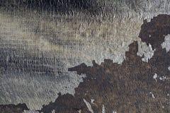 关闭难看的东西葡萄酒被构造的抽象灰色背景4 库存图片