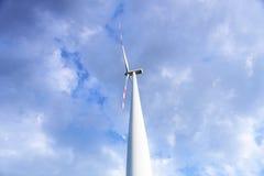 关闭风力植物 免版税库存照片