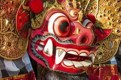 关闭巴厘语Barong 免版税图库摄影